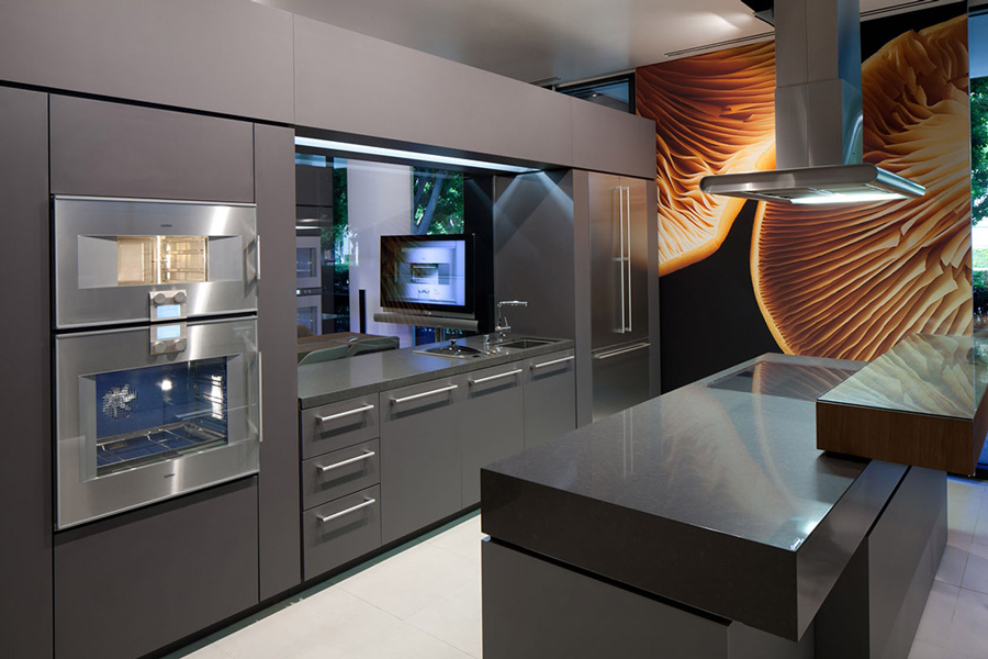 BSH Experience & Design Center - Gaggenau Kitchen and Dining Room